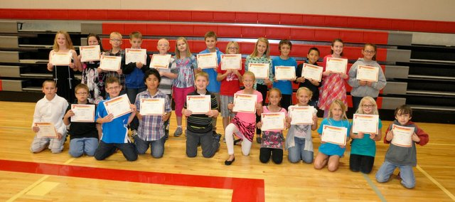 Tonganoxie Elementary School students recently were recognized for their exemplary scores on the State Assessment Tests for the 2012-13 school year. A breakfast took place homecoming weekend at Tonganoxie Middle School.