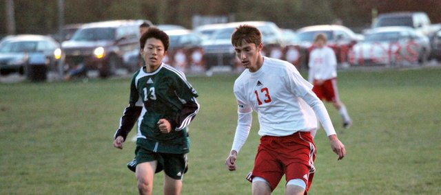 Evan Stilgenbauer scored two goals to help Tonganoxie to a 6-2 win against Immaculata. The Chieftains finished the regular season at 6-10.