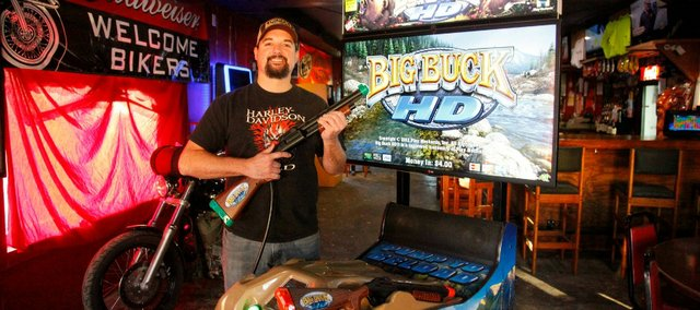 Steve Campbell, owner of Fro's Hideout in Linwood, is competing Saturday at the Big Buck HD World Championship in Chicago. He's ranked No. 27 in the nation heading into the tourney.