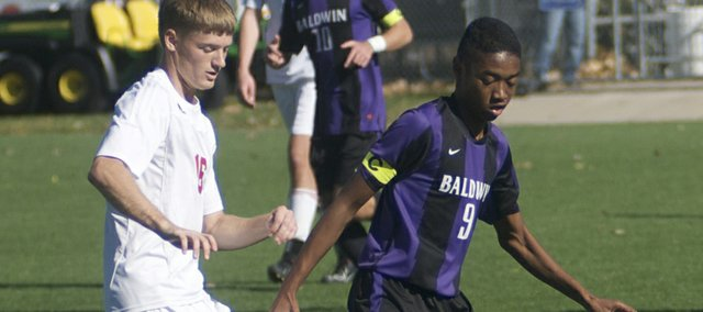 Baldwin High School midfielder Russell Cloon was one of three Bulldogs earning 4A-1A first-team all-state honors. The team, which finished with a record of 17-3-1, was well represented on state and Frontier post-season teams.