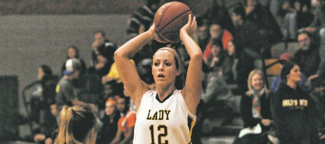 Amber Garver is one of four BLHS seniors hoping to build on last year's 7-13 campaign.