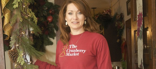 Kara Cole and her Cranberry Market are now ready to spread Christmas cheer with a variety of Holiday flowers and gifts.