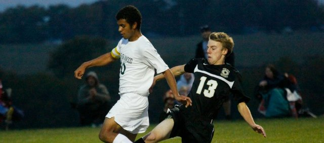 Basehor-Linwood's Zach Ferguson earned an All-State second-team selection after scoring 12 goals in 2013.