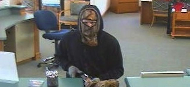 The FBI is looking for this man who robbed the Intrust Bank near Barker Road and Shawnee Mission Parkway on Monday afternoon.