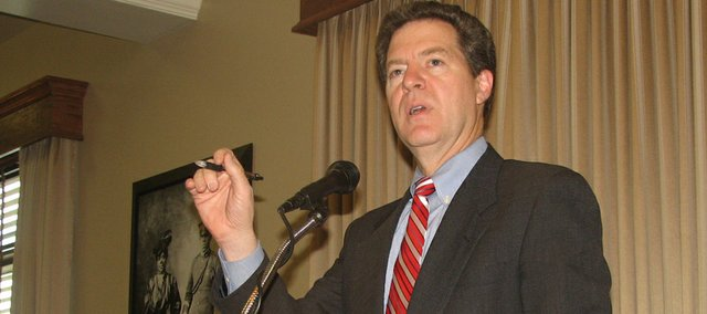 Gov. Sam Brownback proposed Monday the state fully fund all-day kindergarten for Kansas public schools. Currently, the state only provides state aid to local district for students to attend a half day of kindergarten.