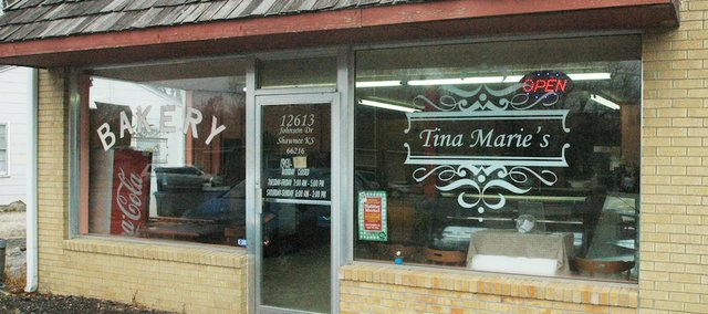 Tina Marie's Bakery on Johnson Drive, west of downtown Shawnee, has been serving up baked deliciousness for two years.