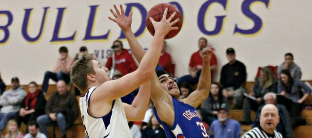 Dylan Dover had a team-high 13 points in McLouth's win against Oskaloosa.