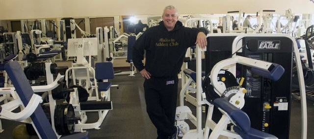 George McCrary and his staff are preparing for the busiest period of the year at the Baldwin Athletic Club as members seek to shed holiday pounds and follow up on New Year's resolutions.