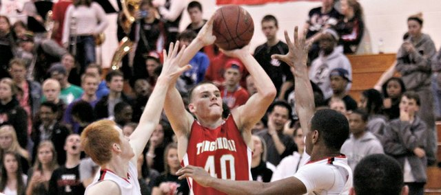 Jack Dale enters 2014 as Tonganoxie's leading scorer. He reached double figures in each of the Chieftains' first three games.