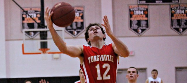 Jared Sommers had 10 points in Tonganoxie's 62-54 win Tuesday at Bonner Springs.