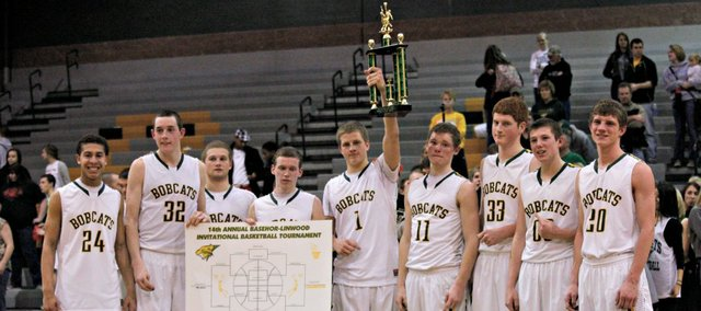 The Basehor-Linwood boys won their first Bobcat Invitational title since 2011 with a 74-57 drubbing of Ottawa on Saturday.