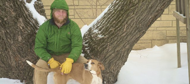 Luke Weaver and his dog, Charlie, recently completed a nearly nine-month hike of the 2,185-mile-long Appalachian Trail. The 24-year-old Weaver said it was something he did to provide to himself he was recovered from surgery gone bad that nearly cost him his right leg.