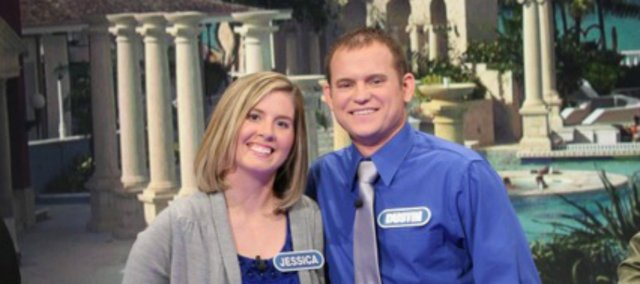 "Jessica and Dustin Schultz recently competed on ""Wheel of Fortune."""