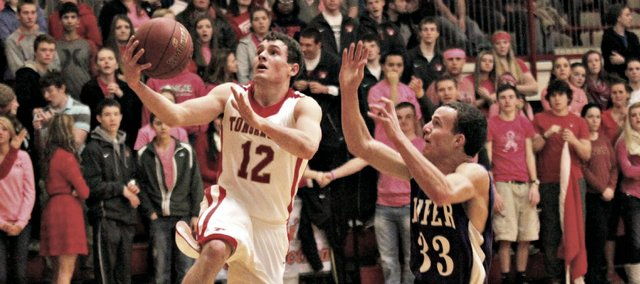 Jared Sommers had a career-high 16 points Friday against Piper, but the Chieftains fell to the Pirates, 62-58.