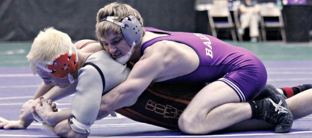 Tucker Clark, a four-time state qualifier for the Baldwin Bulldogs, ended his BHS career with a medal at the weekend's 4A state tournament in Salina.