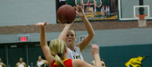 Victoria Smith scored a career-high 33 points in a 62-42 win Thursday against Atchison.