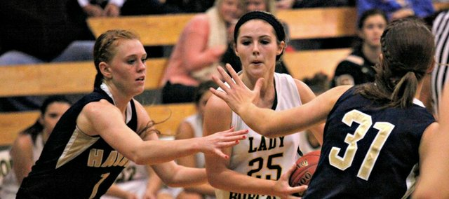 Madison McDowell was one of several key pieces of the Basehor-Linwood girls' turnaround in 2013-14.