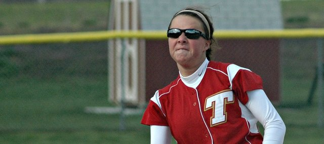 Morgan Oroke is one of four seniors on this year's Tonganoxie High softball team, which opens play Thursday. The Chieftains are out to improve on their first winning season since 2007.