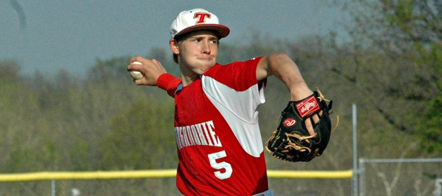 Travis Woods and fellow senior Shane Levy headline a THS baseball team that returns several key pieces from last year's 6-11 team.