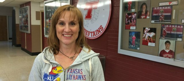 Tonganoxie USD 464 board president Kris Grinter is this week's Face to Face feature profile.