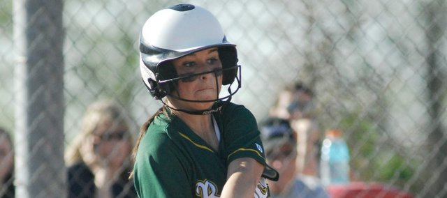 Candice Jennings and the Basehor-Linwood softball team opened the 2014 season Monday with a sweep of Turner.