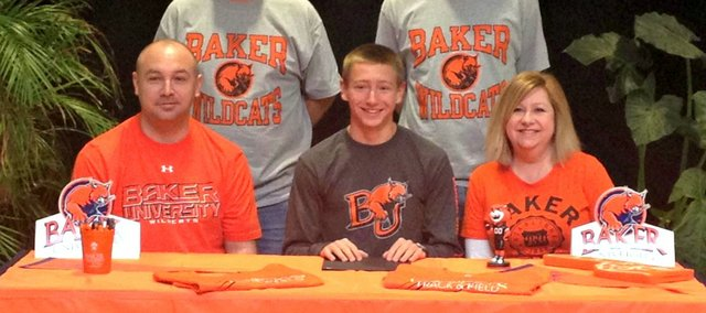 Johnny Fulkerson will run cross country at Baker University. Fulkerson helped BLHS to its first state bid since 1982 last fall.