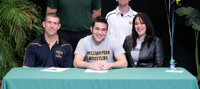 Basehor-Linwood senior John Hopper will wrestle next season at William Penn University.