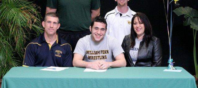 Basehor-Linwood senior John Hopper will wrestle next season at William Penn University.