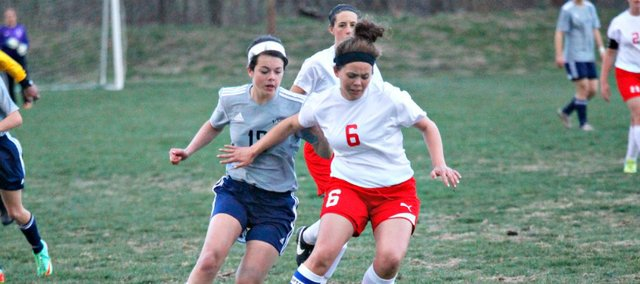 Aly Bartholomew and the THS girls soccer team fell to Mill Valley on Monday, 10-0. The Chieftains have lost four games in a row.