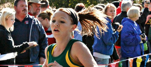 Quinnlyn Walcott is now the BLHS record-holder in the 3,200-meter run and the 2,000-meter steeplechase.