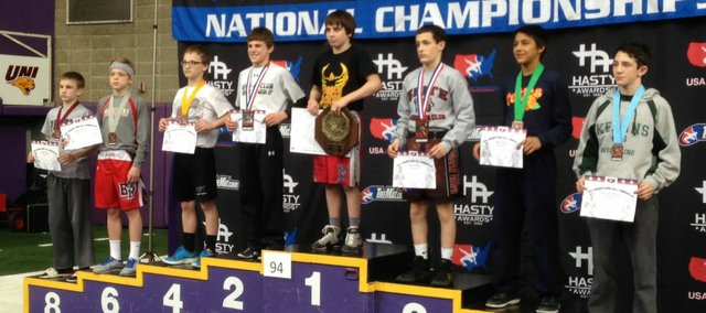 Basehor-Linwood eighth-grader Cody Phippen was recently named to the Pan American Cadet men's freestyle wrestling team, which will compete later this month in São Paulo, Brazil.