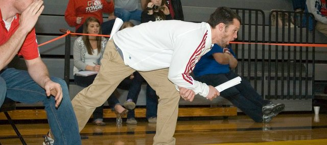 Jeremy Goebel has resigned after 12 seasons as the Tonganoxie High wrestling coach.