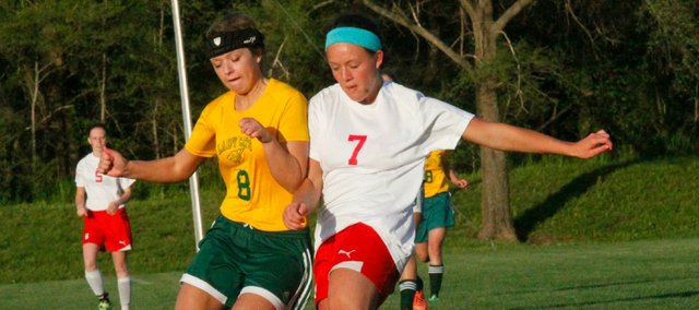 Peyton Snyder and the BLHS girls soccer team suffered a 7-0 loss Tuesday at Tonganoxie.