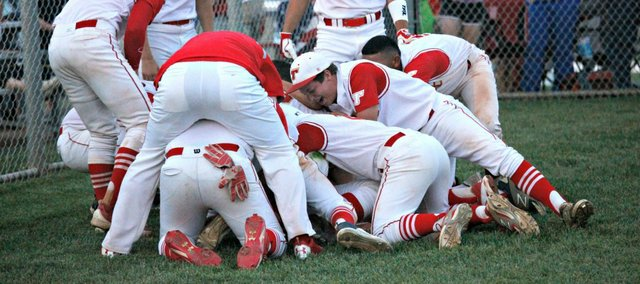 The Tonganoxie High baseball team is headed to state for the first time since 1992.