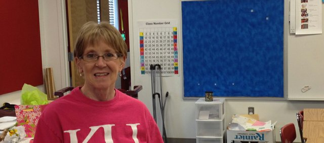 BESPC second-grade teacher Susan Case wrapped up a 39-year teaching career Thursday with her retirement. Case spent the last three years at the Primary Center after teaching 36 years at Vinland Elementary School.