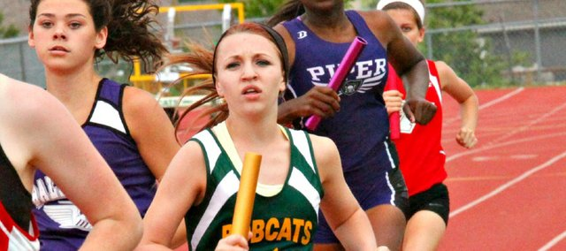 Quinnlyn Walcott will represent Basehor-Linwood in two individual events and on a relay team at this weekend's state track and field meet.
