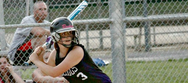 Konner Patterson and the McLouth High softball team will open competition at the Class 2-1A state tournament Thursday in Great Bend. Patterson is the only Bulldog with state experience.