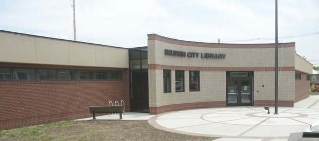 The front doors to the Baldwin City Public Library are open again with the end of the expansion project, completed just in time for the start of the popular summer reading program.