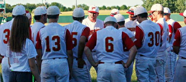 The Tonganoxie High baseball team's season ended Thursday with an 8-7 loss to De Soto at the state tournament.