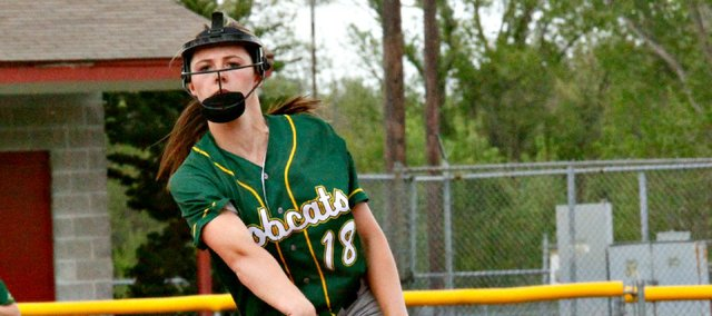 Madison McDowell was one of three BLHS softball players to earn All-KVL first-team selections. Twelve total Bobcats earned spring all-league nods.