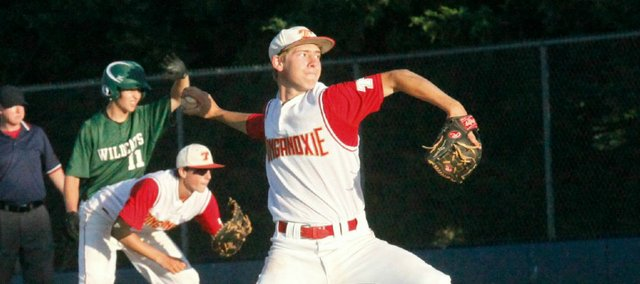 Travis Woods was one of four Tonganoxie High athletes to earn an All-Kaw Valley League first-team selection this spring.