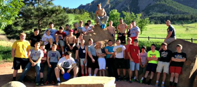 The Basehor-Linwood wrestling team hooked up with wrestlers at Santa Fe Trail for four days of mat sessions last week at Mountain Range (Colo.) High School.