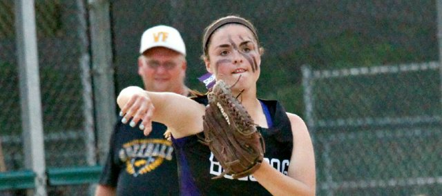 Konner Patterson earned her fourth All-State softball selection this spring as a first-team infielder.