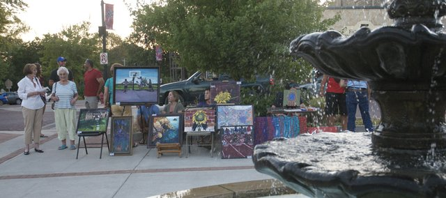 Art and craft vendors will return Friday for the Lumberyard Arts Center's first art walk of the season, but the focus of the event will be the 100-anniversary of the Ives-Hartley Building.
