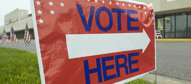 The Baldwin City Fire Station will be open for advance voting from 9 a.m. to 1 p.m. Saturday. Two polling sites will be open for the primary on Tuesday, the Lumberyard Arts Center at 718 High St. for precincts 60 and 62, and Baldwin Junior High School for precinct 61.