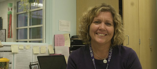 It's been a busy two weeks for Lisa Pattrick, who was hired as the nurse for the Baldwin school district shortly before classes started.