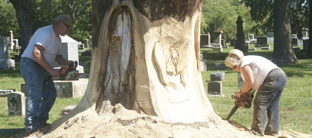 Baldwin roots make oakwood cemetery project special for