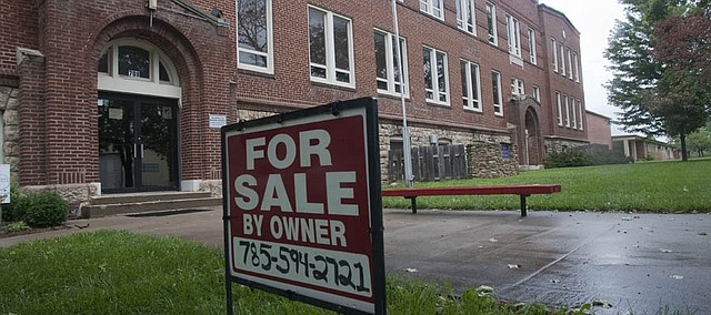 Flint Hills Holding Company plans to convert the former school on Chapel Street into 30 apartments.