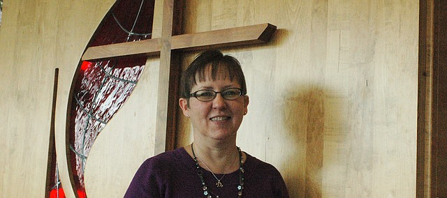 Cynthia Meyer, lead pastor at Bonner Springs United Methodist Church.
