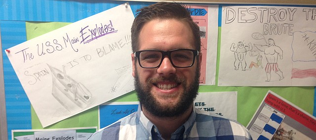 Ryne Huff, BSHS history and sociology teacher.
